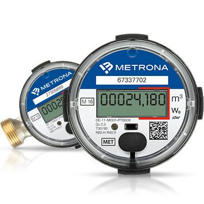 Gut gemocht Elektronische Wasserzähler - Produktinformationen - BRUNATA-METRONA OA88
